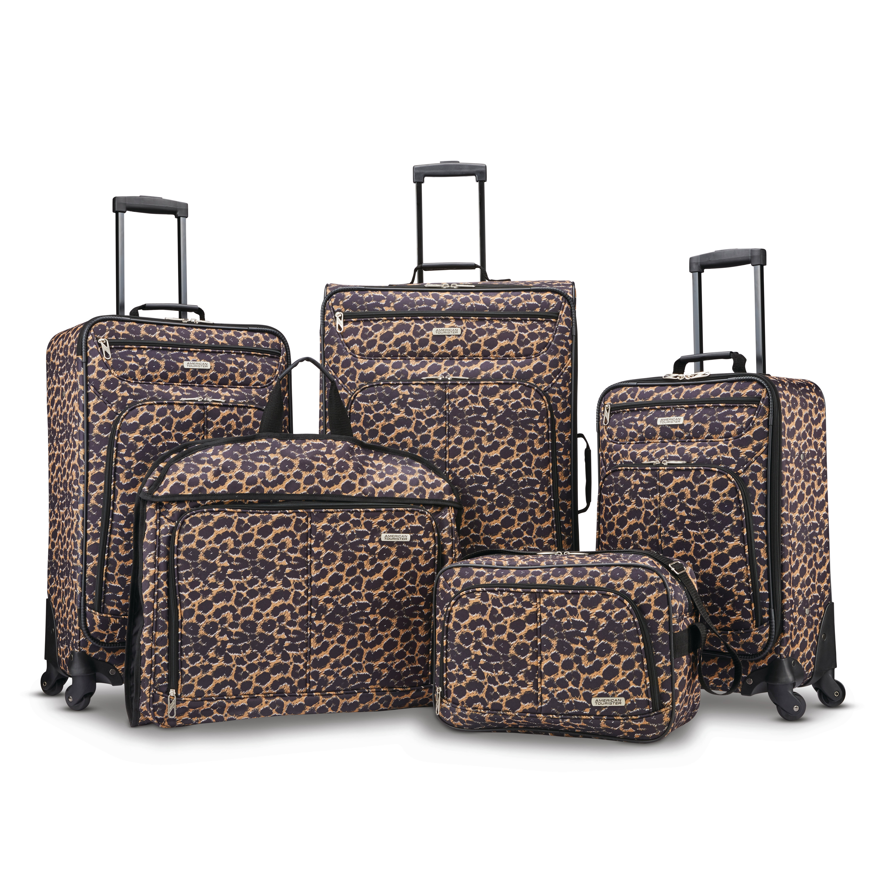 American Tourister 5 Piece Spinner Luggage Set