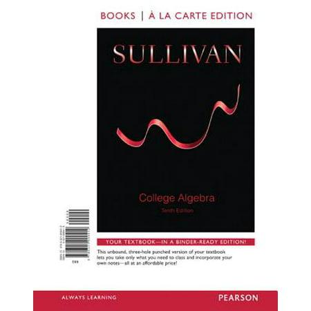 College Algebra, Books a la Carte Edition Plus New Mylab Math -- Access Card (Cynthia Young College Algebra 3rd Edition Answers)