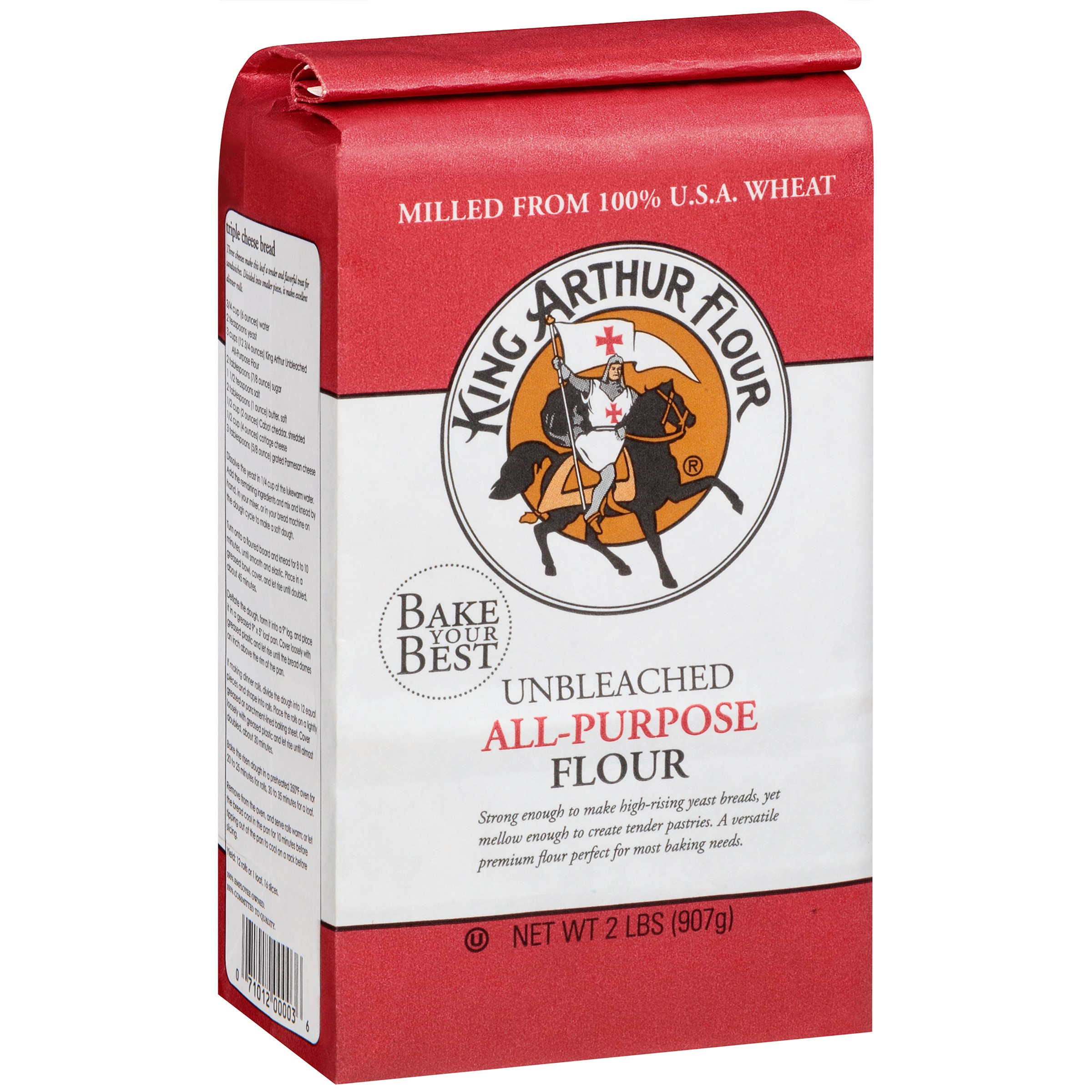 King Arthur Unbleached All Purpose Flour, 2 Lb