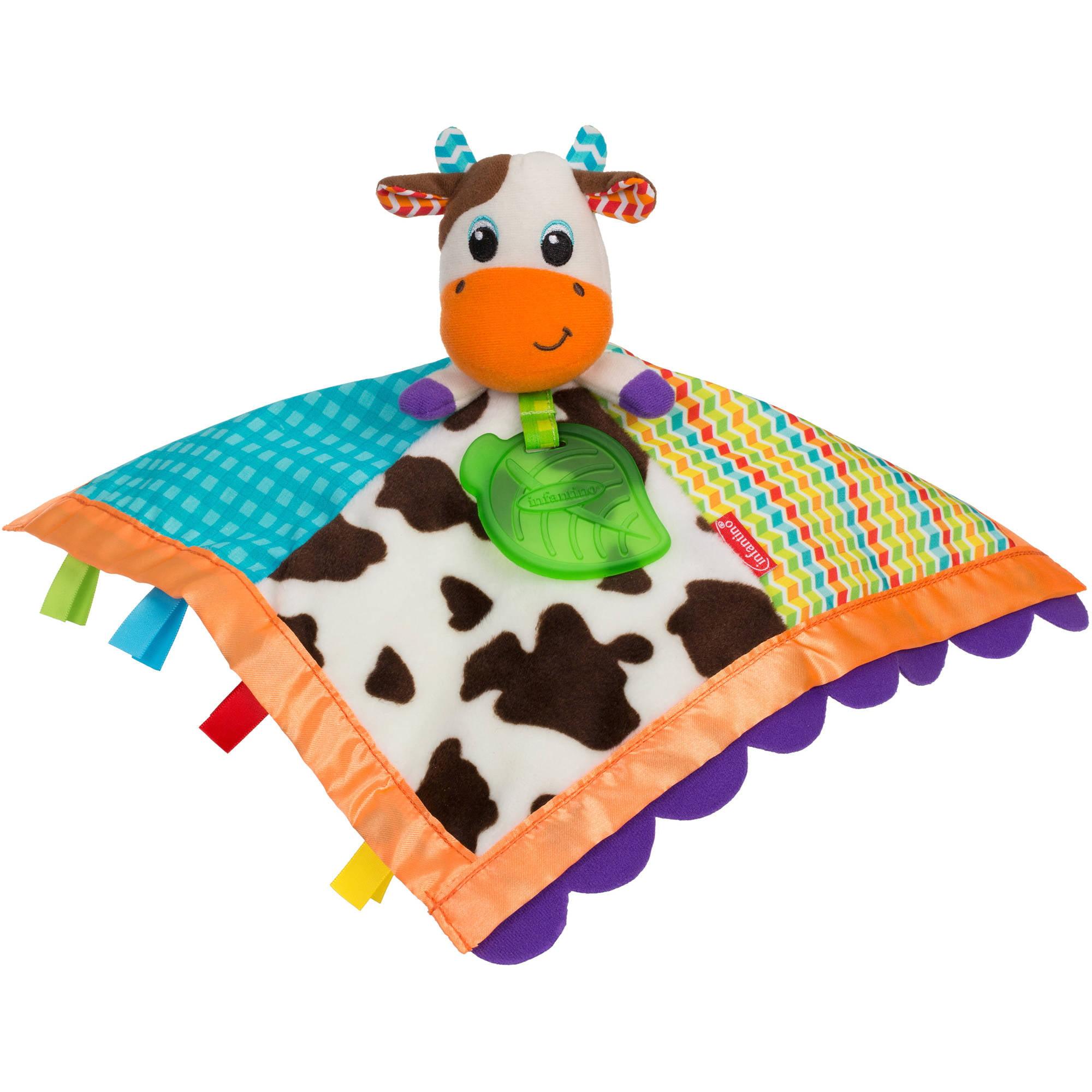 Infantino Topsy Turvy Soft & Snuggly Lovie Pal Cow