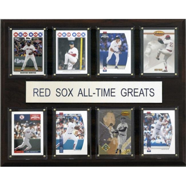 C & I Collectables 1215ATGRSOX MLB Boston Red Sox All-Time Greats Plaque
