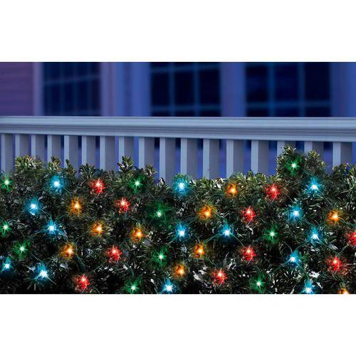 Holiday Time LED Net Christmas Lights Multi, 150 Count