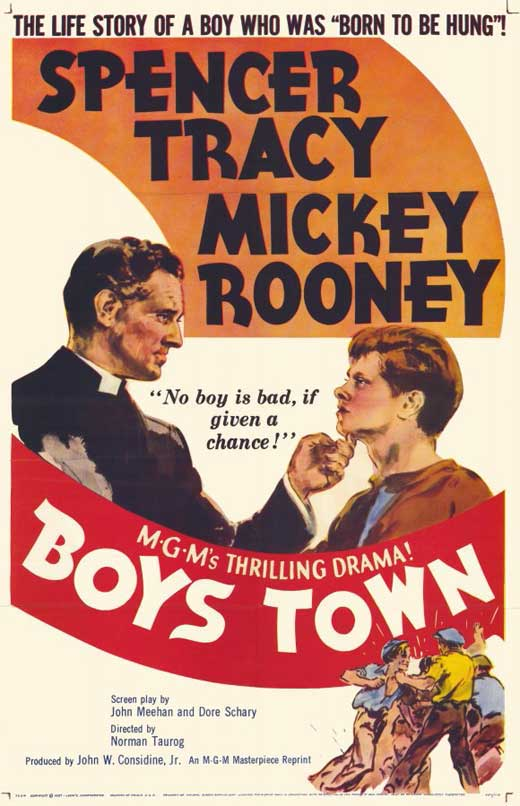 Boys Town POSTER Movie B Mini Promo by Burst Posters