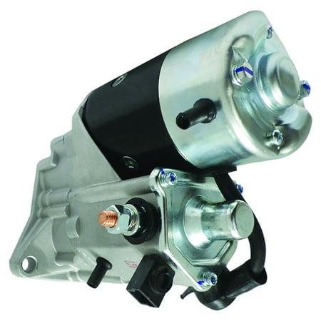 New Starter For John Deere Tractor 6100D 6110D 6115D 6125D 6130D 6140D,  Windrower 4890 4895, Indutrial Engine 4039 4045