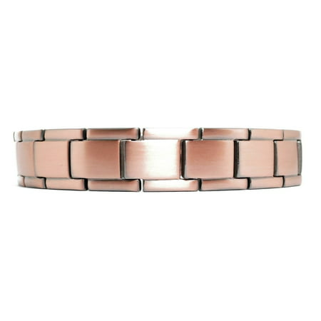 Link Magnetic Clasp Bracelet - Traveler - Solid Copper  Magnetic Link Bracelet - NEW!!