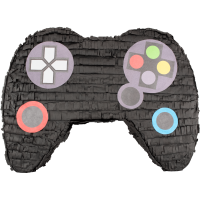Video Game Controller Party Pinata Black 21in x 16in