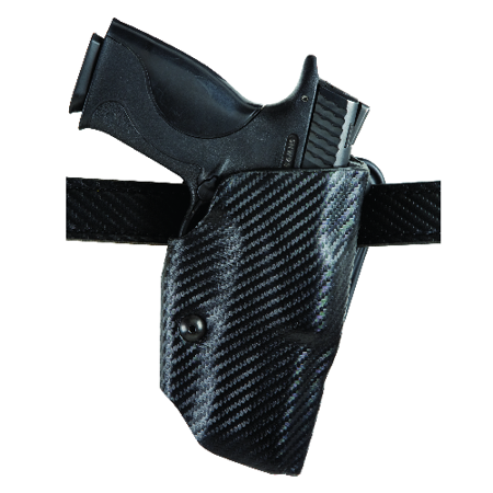 SAFARILAND ALS Belt Holster Finish: STX Plain, Black Gun Fit: Glock 26 (3.5  bbl) Hand: