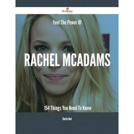 Feel The Power Of Rachel McAdams - 154 Things You Need To Know - eBook](Rachel Mcadams Halloween)