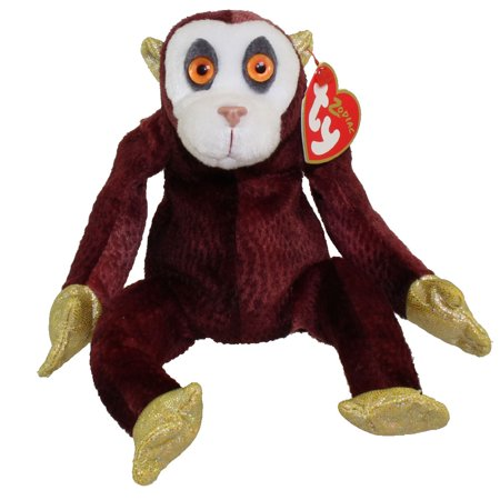 TY Beanie Baby - THE MONKEY Chinese Zodiac (5 inch) - Monkey Chinese
