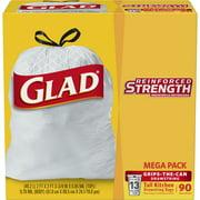 Glad Tall Kitchen Drawstring Trash Bags - 13 Gallon - 90 ct