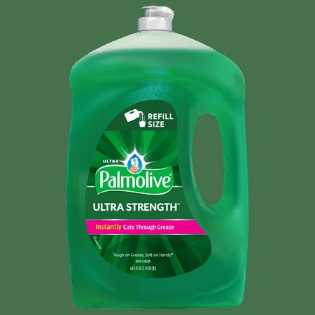 Palmolive Ultra Dishwashing Liquid Dish Soap, Original - 68.5 Fluid Ounce