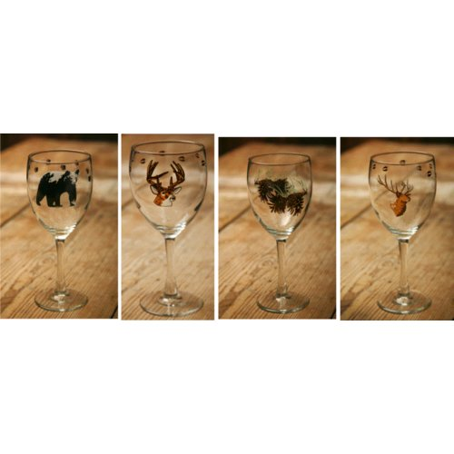 West Creation Wilderness All-Purpose Wine Glass (Set of 4)