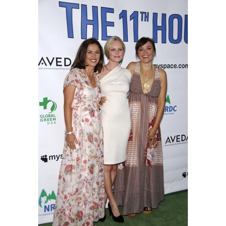 Leila Conners Petersen Kate Bosworth Nadia Conners At Arrivals For The 11Th Hour Premiere Arclight Cinemas Los Angeles Ca August 08 2007 Photo By Michael GermanaEverett Collection Celebrity (Ca House)