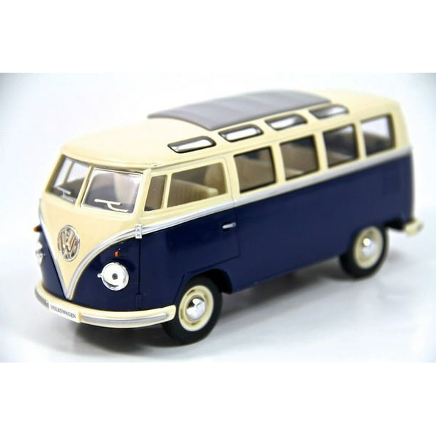 "7"" Kinsmart 1962 VW Volkswagen Bus Diecast Model Toy Car"