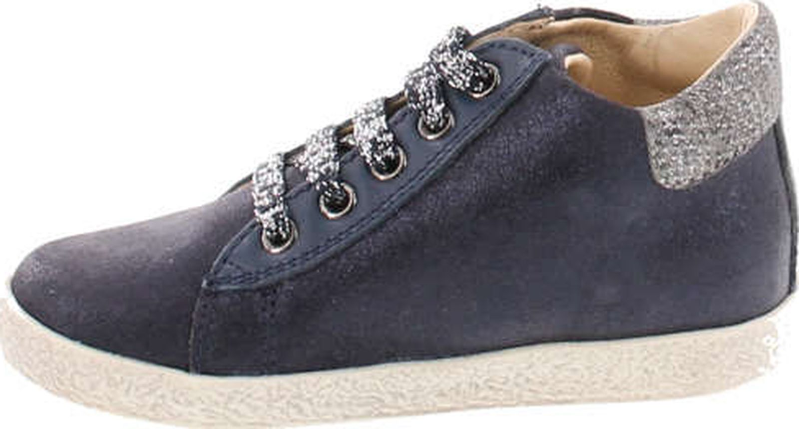Falcotto Girls 1589 Lace Up Designer Flower Booties