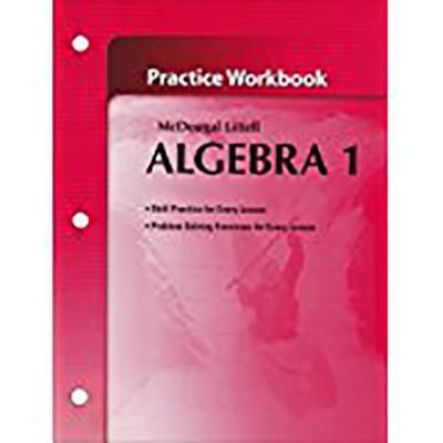 Holt McDougal Larson Algebra 1 : Practice