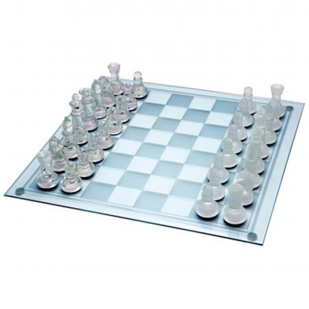 33 pieces Glass Chess Set ()