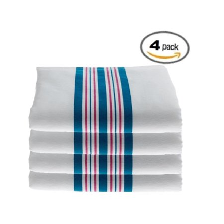 Hospital Receiving Blankets, 100% Cotton Baby Blankets, 30x40 - 4pk, By Elaine Karen