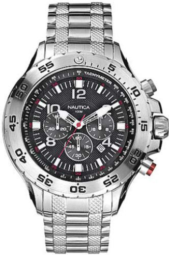 Men's Nautica NST Chronograph Watch N19508G by Nautica