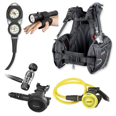 Mares BC, Dive Computer, Scuba Regulator Octo, Scuba Gear Package