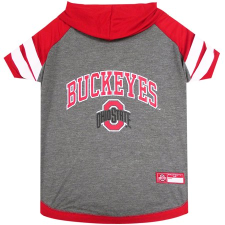 Ohio State University Doggy Hooded Tee-Shirt](Ohio University Stars Halloween)