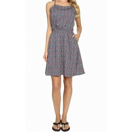 Womens Large Emma Printed A-Line Dress L