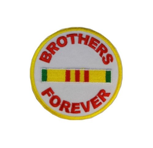 Brothers Forever Vietnam Veterans Embroidered Military Patch Iron Sew PWPM5004