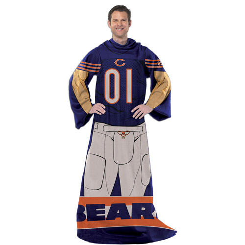 "NFL Player 48"" x 71"" Comfy Throw, Bears"