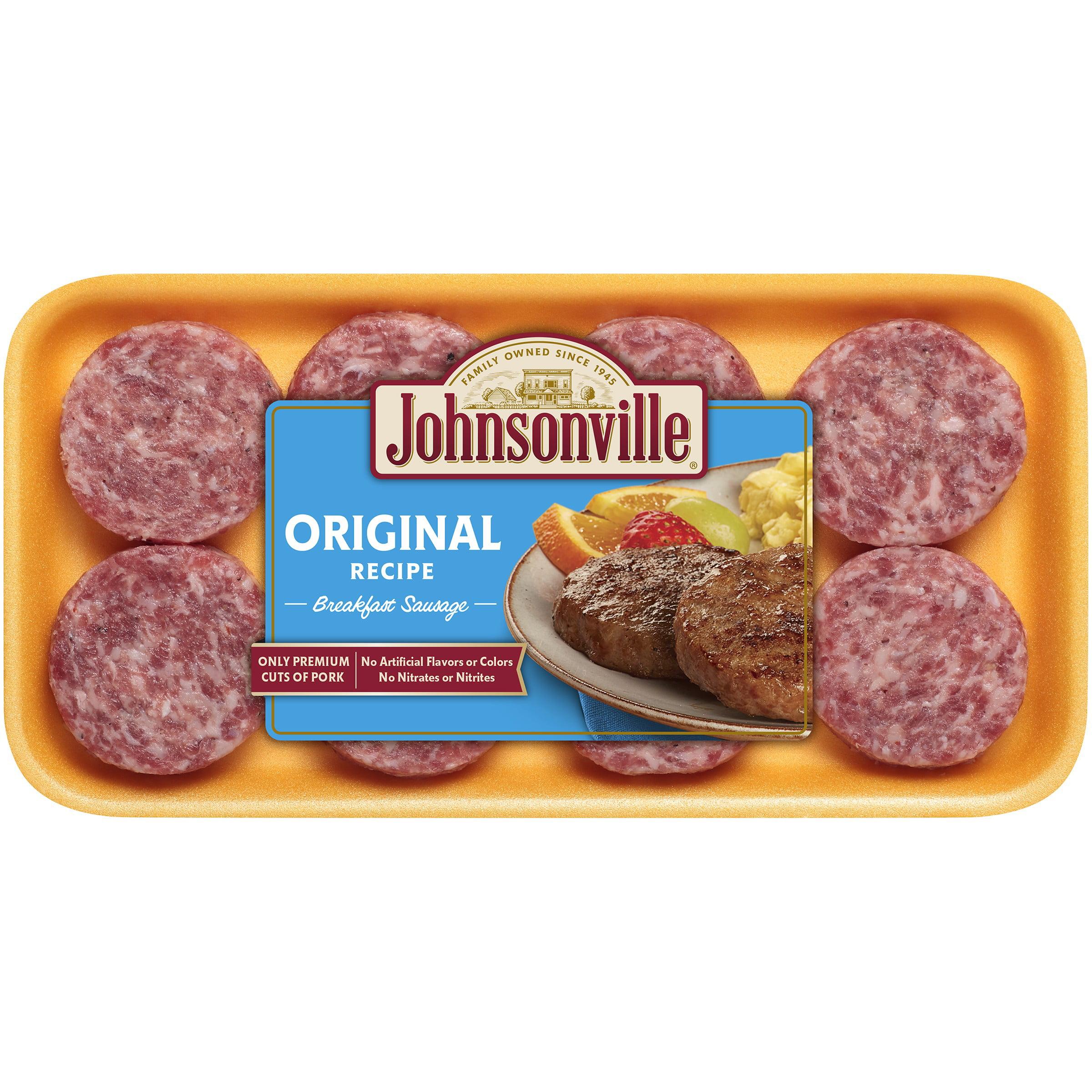 Great Johnsonville Original Breakfast Patties 8ct 12oz Tray (100965)   Walmart.com