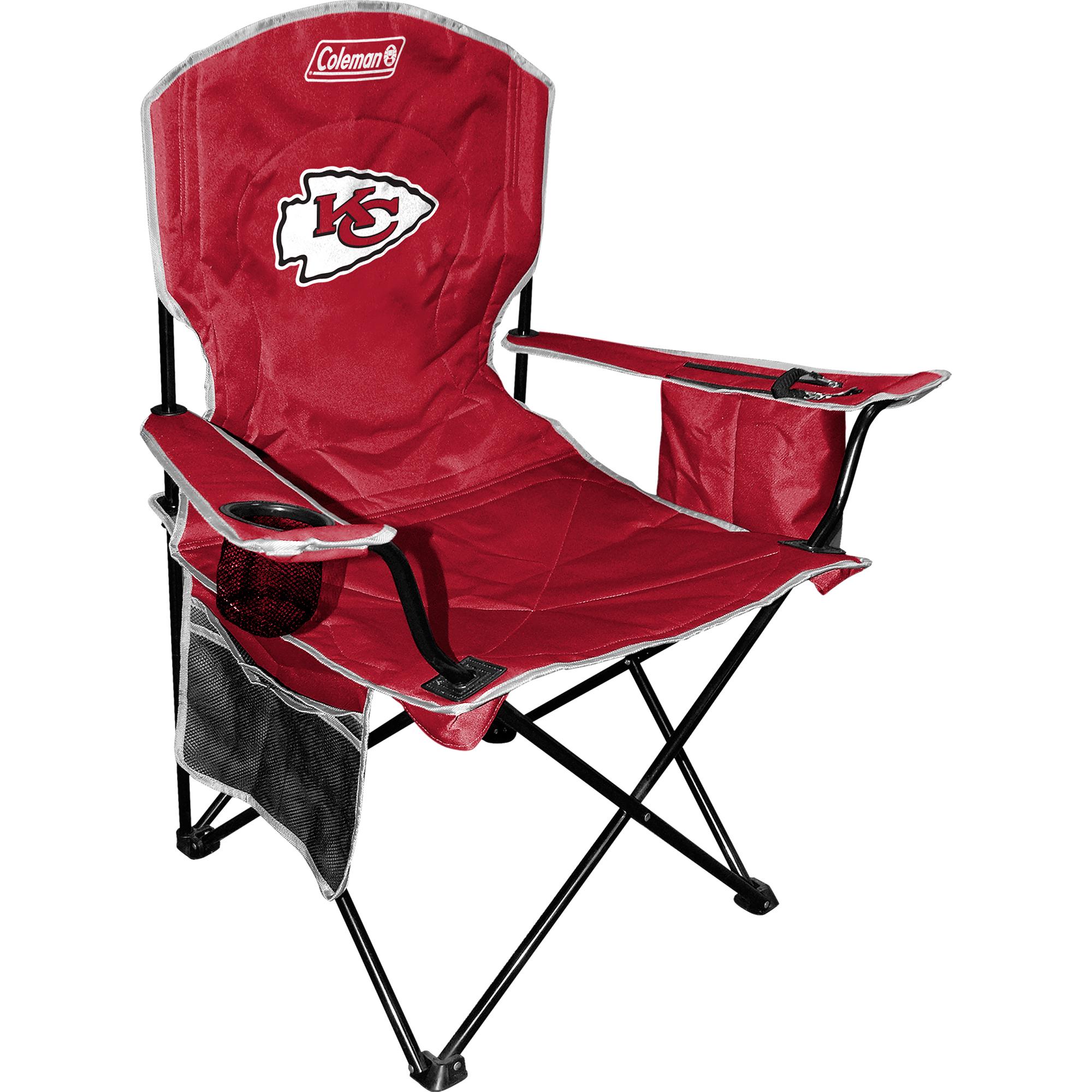 Coleman Kansas City Chiefs Cooler Quad Chair