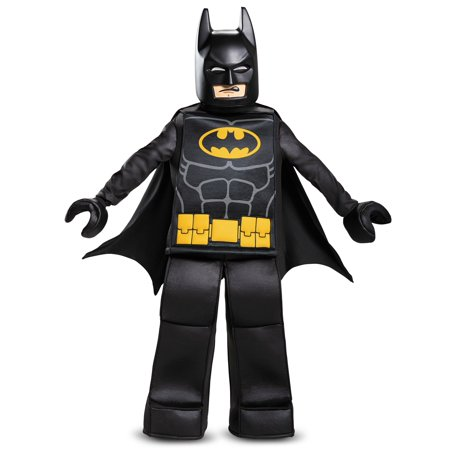 Boys Prestige LEGO Batman Costume (Lego Costume For Adults)