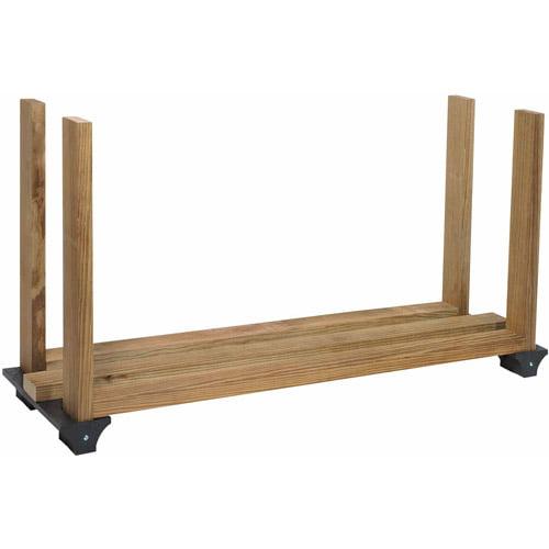 Hopkins Black Firewood Rack