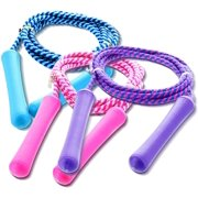 Best Kids Jump Ropes - GiftExpress Adjustable Size Colorful Jump Rope for Kids Review