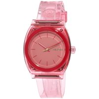 062de9181 Product Image Nixon A1215685 Pink Resin Japanese Quartz Fashion Watch