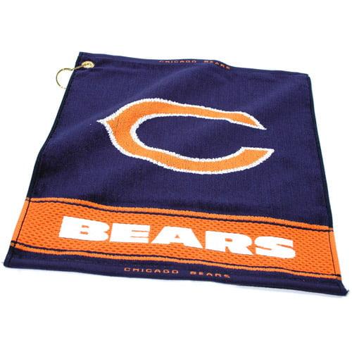 Team Golf NFL Chicago Bears Jacquard Woven Golf Towel