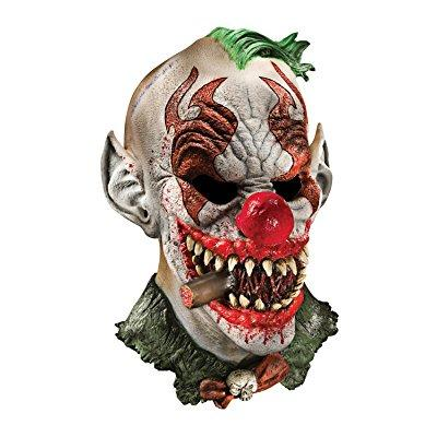 Latex Mask - Fonzo The Clown - Adult Costume Accessory