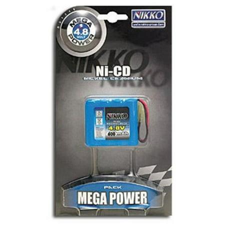 NIKKO NKAC-1248 4.8V 600mAh Ni-Cd Battery Pack