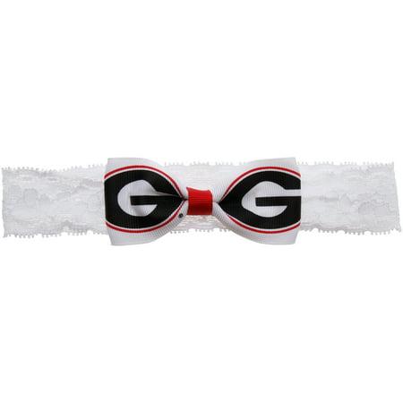Georgia Headband - Georgia Bulldogs Girls Infant Headband - No Size