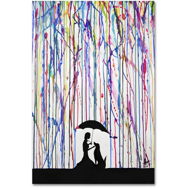 Trademark Fine Art 'Sempre' Canvas Art by Marc Allante