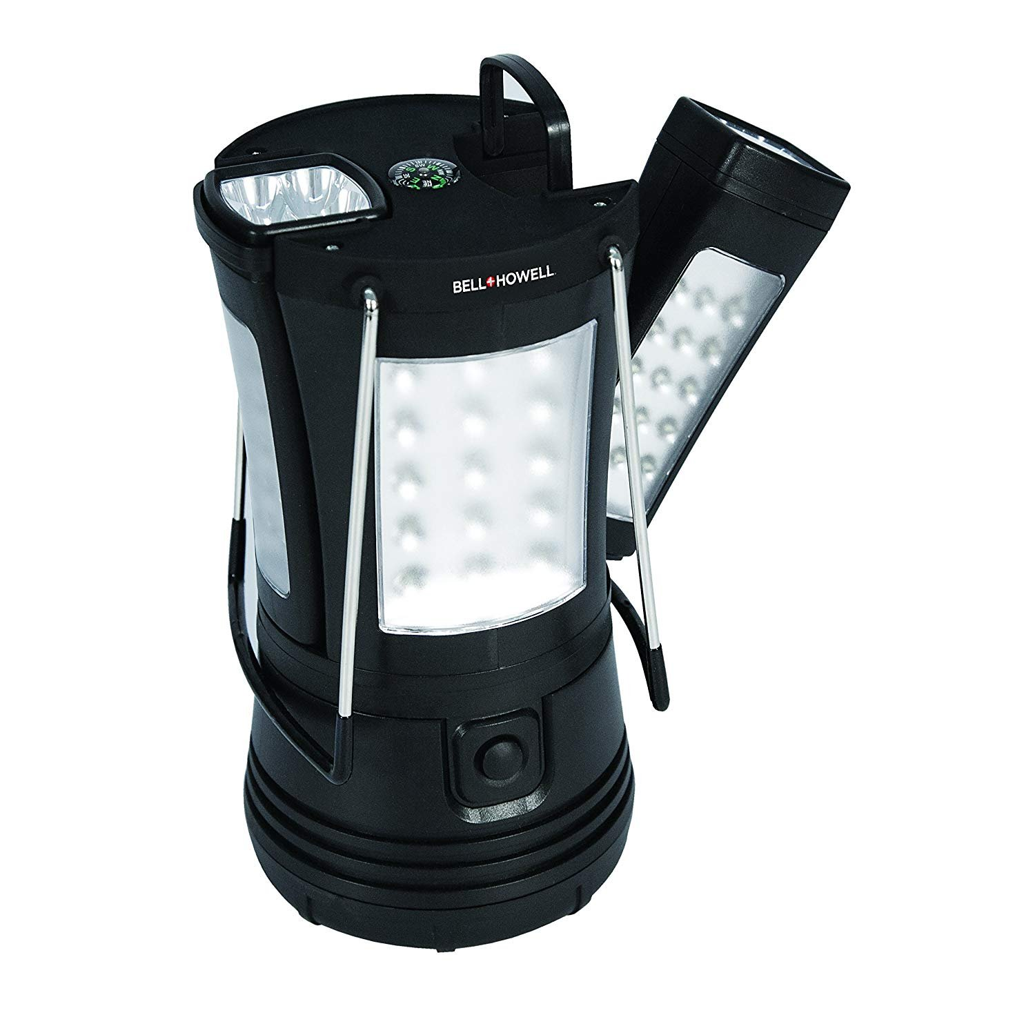bell   howell super torch lantern with 2 flashlights