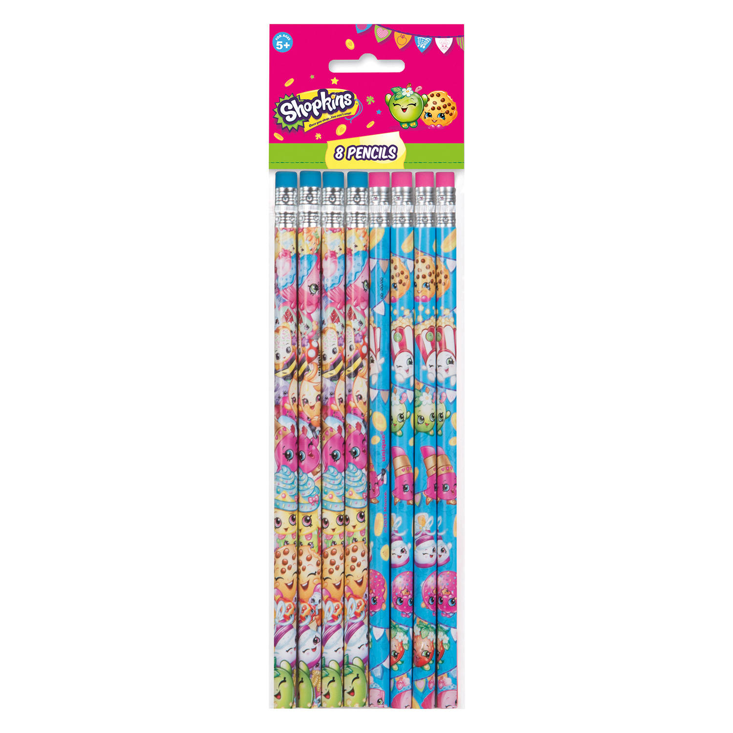 Shopkins Pencils, 8 ct
