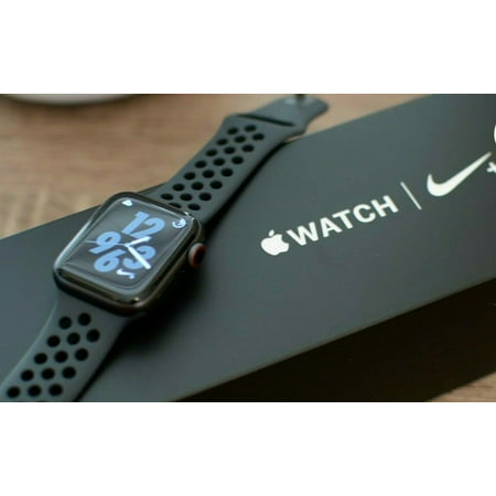 Like New Apple Watch Series 4 44MM GPS+Cellular 4G Aluminum Sport Band- Original Box ()