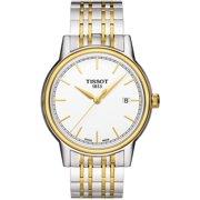 Tissot Carson White Dial Two-tone Mens Watch T0854102201100