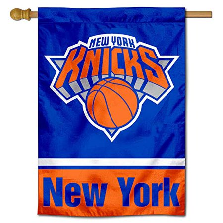 WinCraft New York Knicks Two Ply and Double Sided House Flag - image 1 of 1
