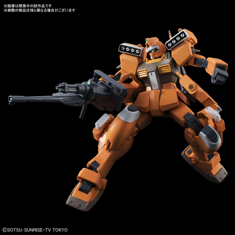 Gundam High Grade Build Divers GM III Beam Master Model Kit by Bandai Hobby