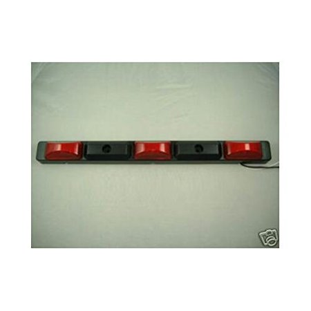 Command Truck - Red LED ID Bar / Truck Bus RV Trailer Marker Clearance Light By Command Electronics Ship from US