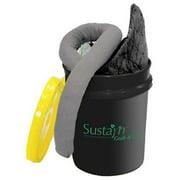SUSTAYN BY SPILFYTER USR304 Spill Kit, Universal, Black