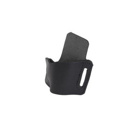 Hand 1911 Leather - Versa Carry Protector Series Leather Belt Holster, Fits 1911 Style Pistols, Right Hand, Black Leather OWBBK2