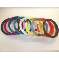 12 GXL HIGH TEMP AUTOMOTIVE POWER WIRE 9 SOLID COLORS 25 FEET EACH 225 FT TOTAL