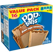 Pop-Tarts, Frosted Brown Sugar Cinnamon Flavored, 28.2 oz 16 Ct
